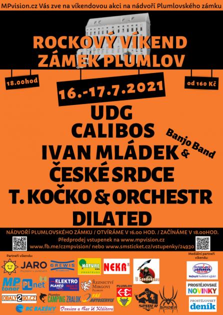 Rockový víkend na plumlovském zámku - 16. - 17.7.2021