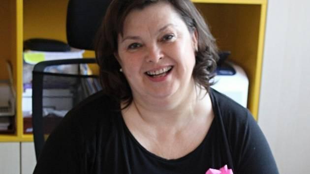 Blanka Kolečkářová - starostka Držovic