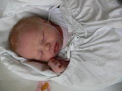 Viktorie Leznová, Olomouc, narozena 18. března, 49 cm, 3000 g