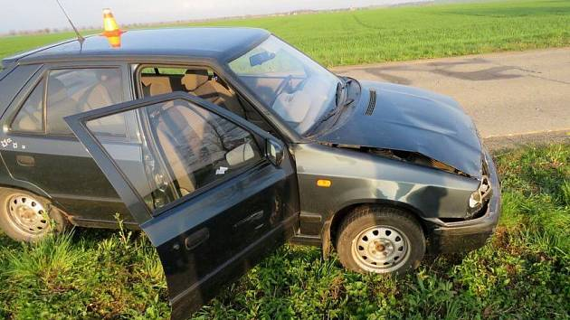 Nehoda mezi Vranovicemi-Kelčicemi a Žešovem