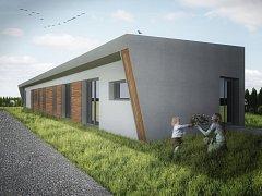 Pasivní dům v Kralicích na Hané vznikl za necelých pět měsíců - vizualizace