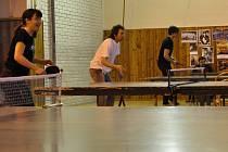 Turnaj ve stolním tenise v Drahanech.