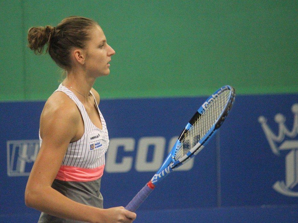 Karolina Plíšková. Prostějov v semifinálové skupině tenisové extraligy porazil Přerov 5:3