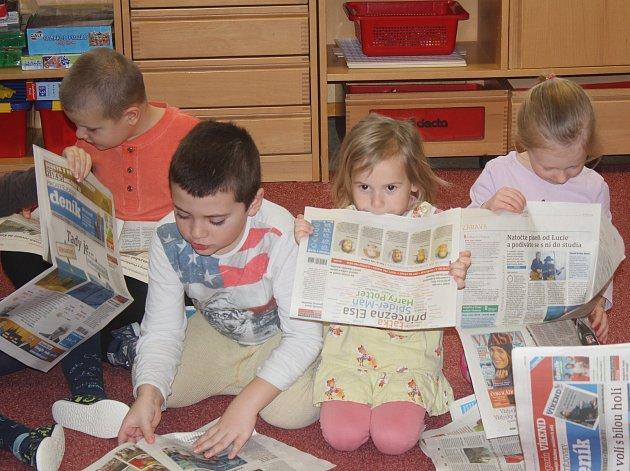 Děti z MŠ Lipová