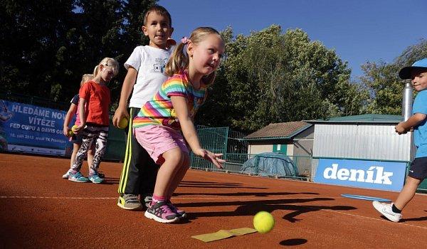 Akce Hledáme nové vítěze Fed Cupu a Davis Cupu vProstějově