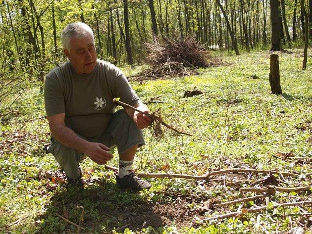 ochránce přírody Karel Pokorský