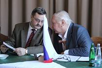Generální Generální konzul Ruské federace Alexander Nikolajevič Budajev v Prostějově - beseda v Národním domě