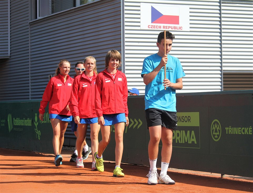 Tenisové Mistrovství světa družstev do 14 let v Prostějově