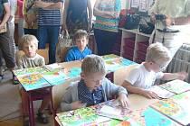 První školní den prvňáčků na ZŠ Palackého v Prostějově