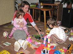 Profesionální hlídání dětí je v Prostějově novou, zatím nepříliš obvyklou službou. Magda Kotyzová ji teď nabízí.
