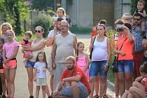 Sbor dobrovolných hasičů Domamyslice si pro děti připravil tematické soutěže.
