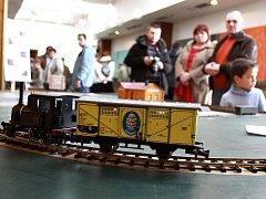 Výstava železničních modelů v Kasku