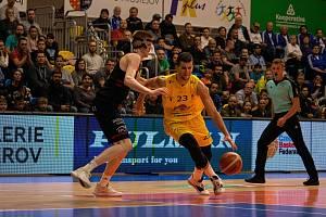 BK Olomoucko (ve žlutém). Ilustrační foto