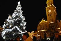 Slavnostní rozsvěcení vánočního stromu v Prostějově, 29. listopadu 2019