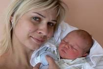 Samuel Langer s maminkou Janou, Prostějov, Narozen 7. ledna 2010, 51 cm, 3900 g
