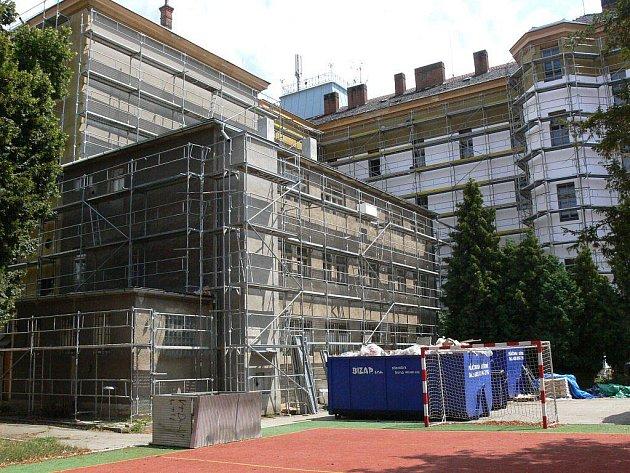 Rekonstrukce GJW v Prostějově