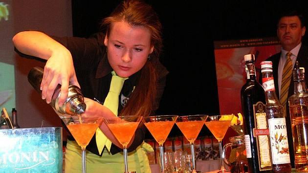 Kateřina Martauzová na soutěži o Hanácký pohár