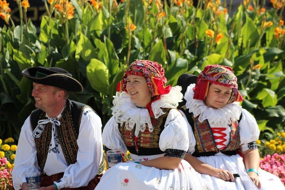 Setkání Hanáků na Hanáckých slavnostech v Prostějově