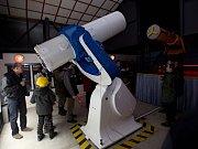 Nový dalekohled na hvězdárně v Prostějově