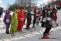 Karneval na sjezdovce v Kladkách