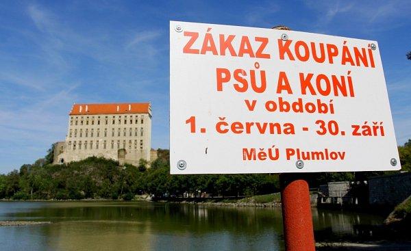 Podhradský rybník vPlumlově - 10.září 2012