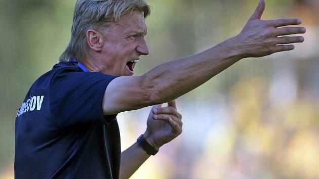 Trenér 1.SK Prostějov Oldřich Machala