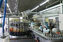 Stáčení destilátů v prostějovské palírně U zeleného stromu