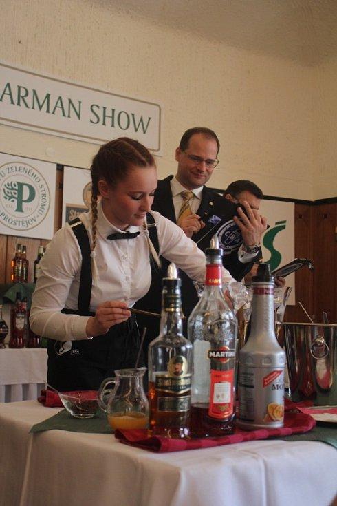 Barman show v Prostějově