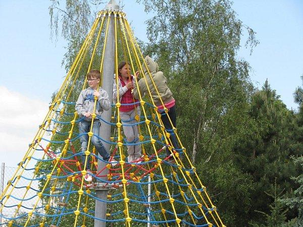 Dětské hřiště vTylově ulici vProstějově