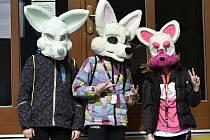 Tři nepřehlédnutelné lišky v Kralicích na Hané - 12. 4. 2021