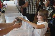 Výstava drobného zvířectva v Plumlově