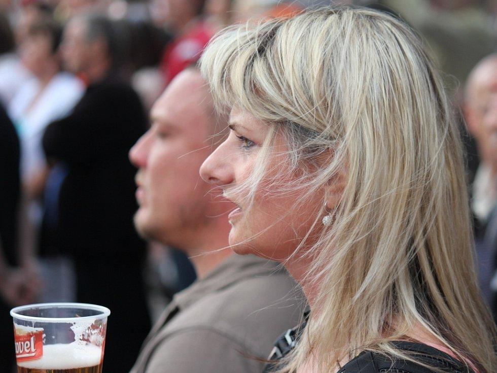 Koncert Marie Rottrové si nenechaly ujít stovky fanoušků.