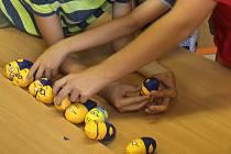 Tvoření v prostějovském Informačním centru pro děti a mládež