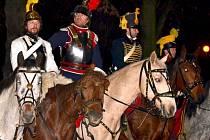 Vojáci z napoleonských válek v Čechách pod Kosířem