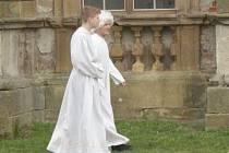 Anděl Petronel, čert Hejhulák nebo Rozum a Štěstí, tak s těmito pohádkovými bytostmi se o víkendu mohli návštěvníci potkat na zámku Plumlov