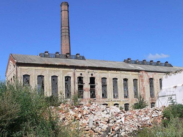 Bývalý cukrovar v Čelechovicích na Hané