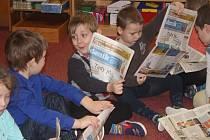 Děti z MŠ Lipová se seznámily s povoláním novináře