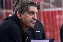Trenér Prostějova Tomáš Sršeň