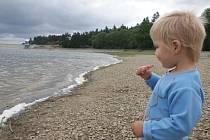 Plumlovská přehrada - druhá polovina července 2014