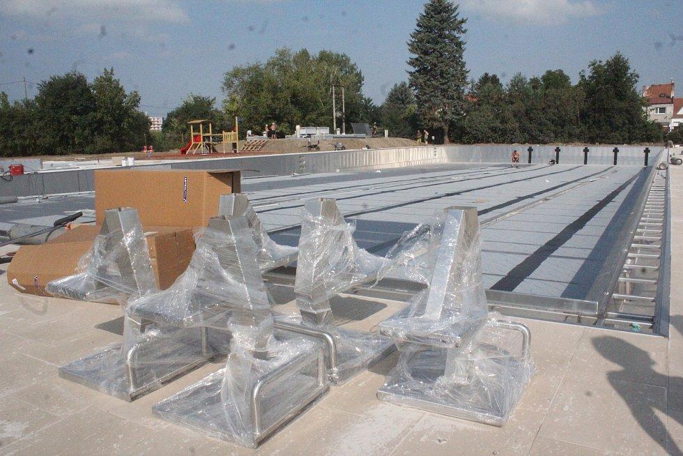 Rekonstrukce vrahovického koupaliště - 1. srpna 2018