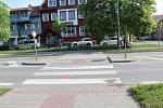 Řidič dodávky srazil na přechodu v Dolní ulici v Prostějově dvacetiletou chodkyni