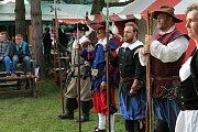 Tradiční hodové oslavy ve středověkém duchu v Ochozi u Konice