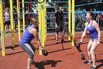 Otevření prvního workoutového hřiště v Prostějově