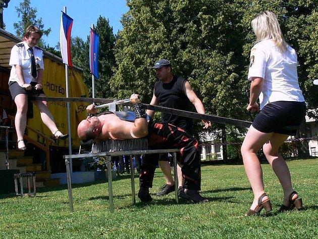 Železný Zekon na oslavách 115. let hasičů v Lipové
