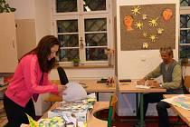 Příprava na výuku v učebnách pro handicapované žáky ve Výšovících