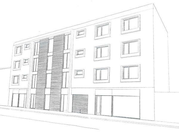 Ve Vodní ulici by mohl vyrůst polyfunkční dům
