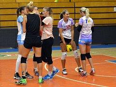 Volejbalistky AGEL Prostějov (archivní foto)