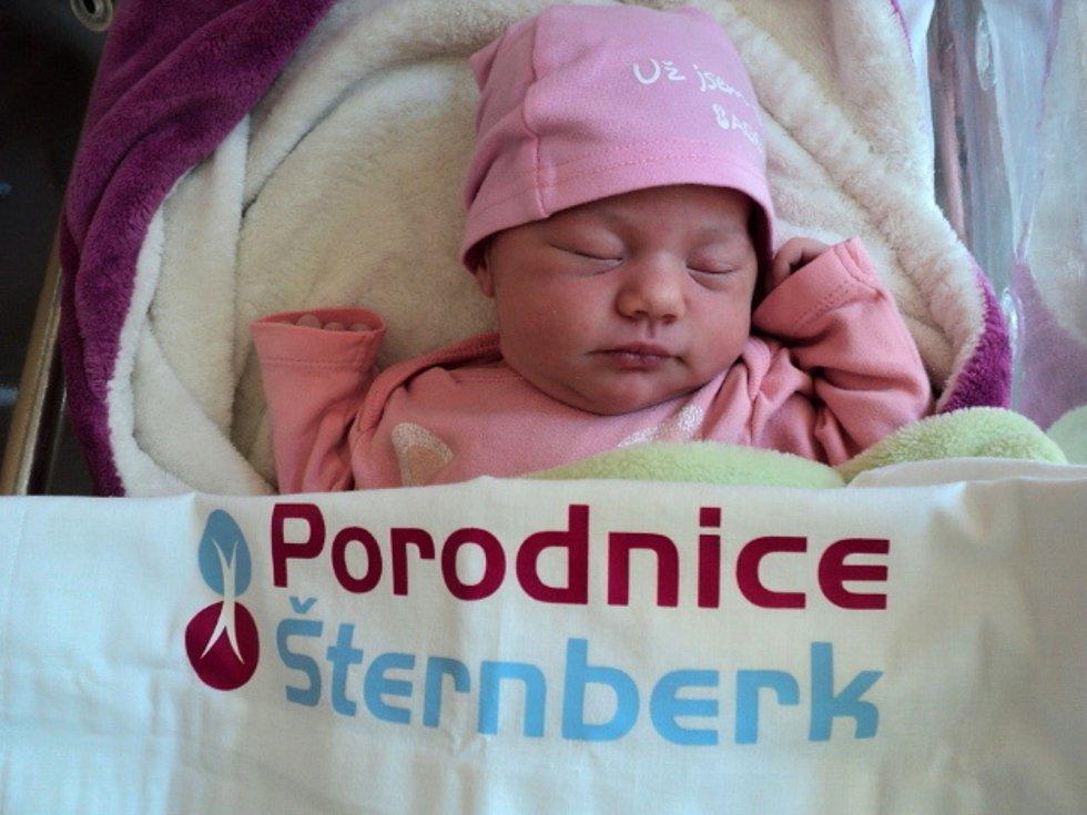 Eliška Greplová, Strukov, narozena 30. května 2021, míra 50 cm, váha 3730 g