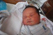 Sebastián Grepl, Prostějov, narozen 19. července v Prostějově, míra 51 cm, váha 4000 g