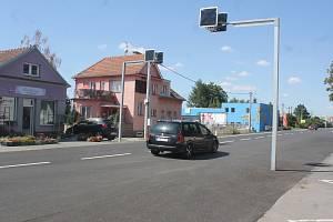 Na Brněnské ulici v Prostějově chodci přišli o dva přechody